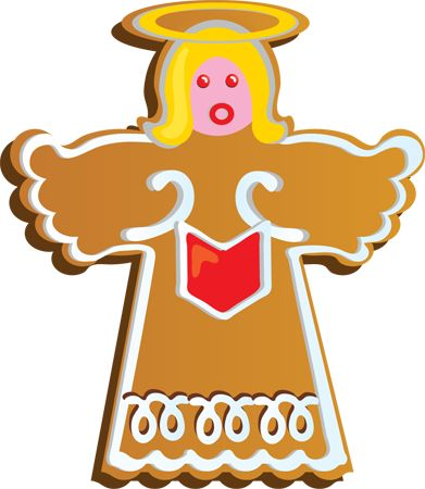 Holiday Cookie Clip Art