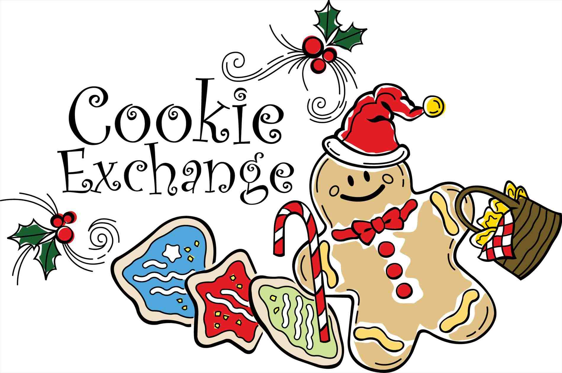 1899x1263 Color Cookie Christmas Treats Clip Art Chirstmas Pencil And