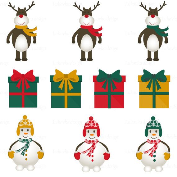 Holiday Decorations Clipart