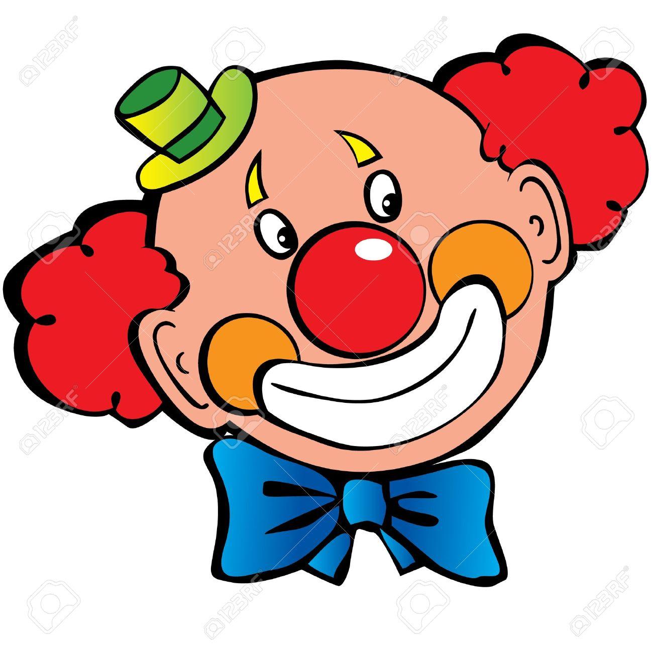 1300x1300 Clown Face Clipart