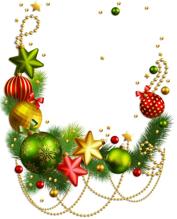 564x699 Holiday Decorations Clipart