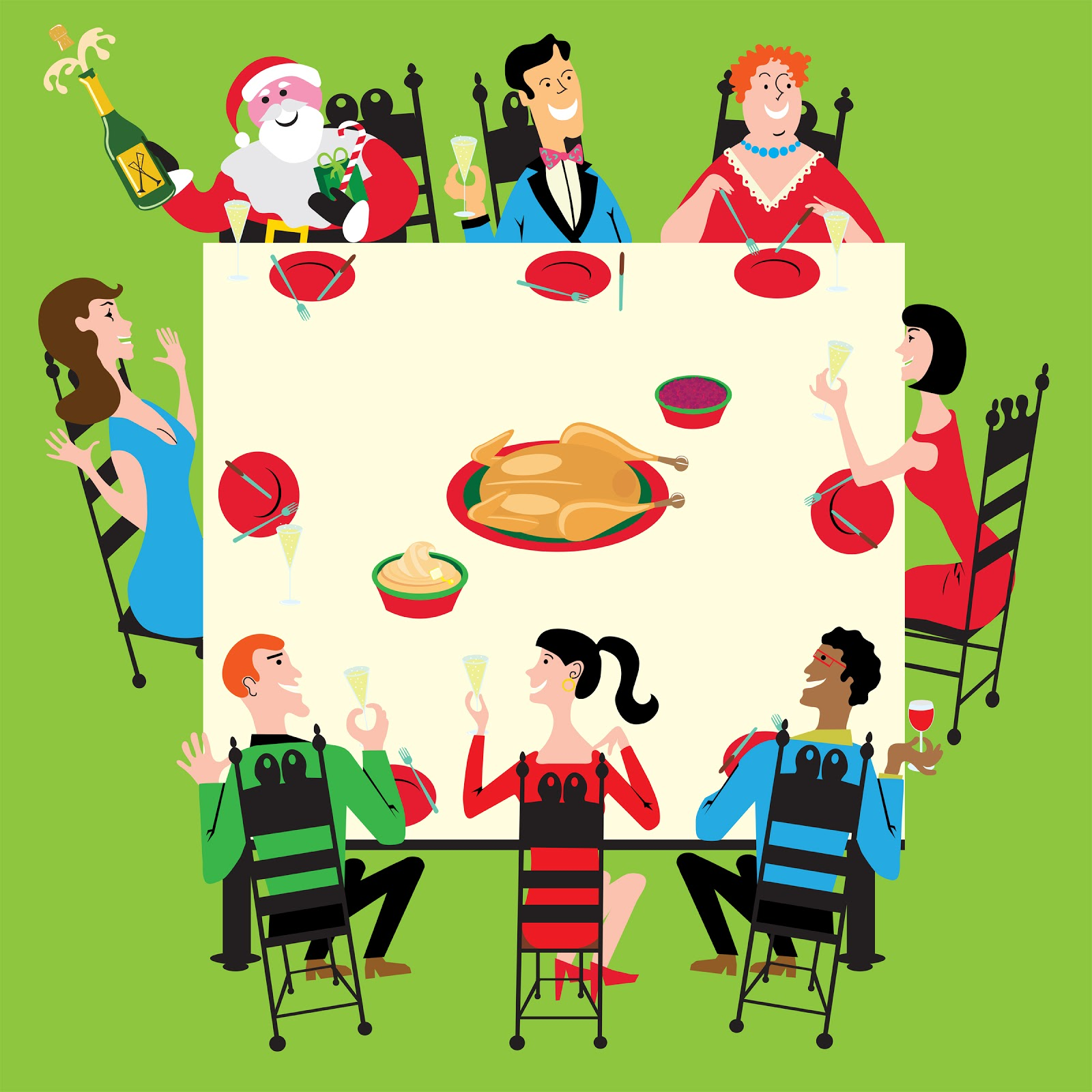 Christmas Dinner Clipart.Holiday Dinner Clip Art Free Download Best Holiday Dinner