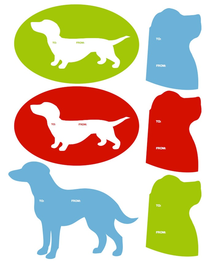 Holiday Dog Clipart