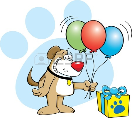 450x403 Dog Party Clip Art