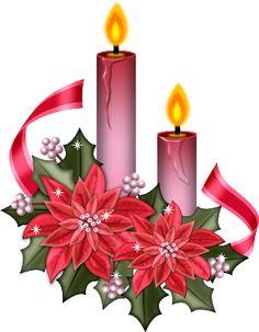 236x303 Christmas Candles Png Clip Art Image Weihnachten