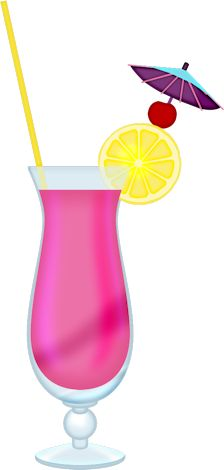 224x470 Exotic Cocktail Png Clipart Picture Clip Art Drinks