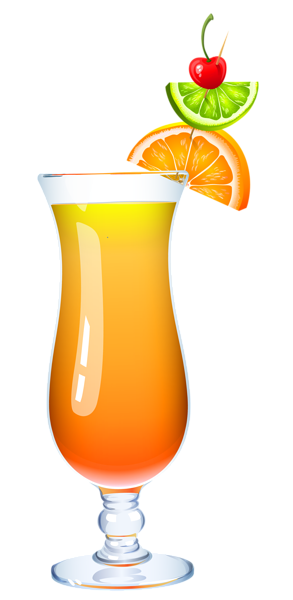 293x600 Exotic Cocktail Png Clipart Picture Clip Art Drinks