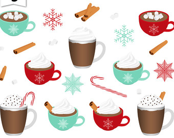 340x270 Holiday Clipart Hot Cocoa