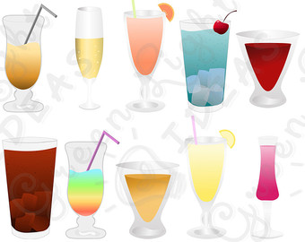 340x270 Alcohol Clipart Holiday Cocktail