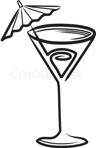 314x480 Best Cocktails Clipart Ideas Chalkboard Doodles