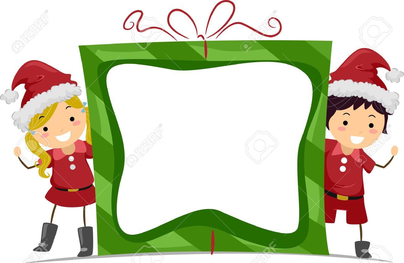 1300x846 Elf Clipart Frame