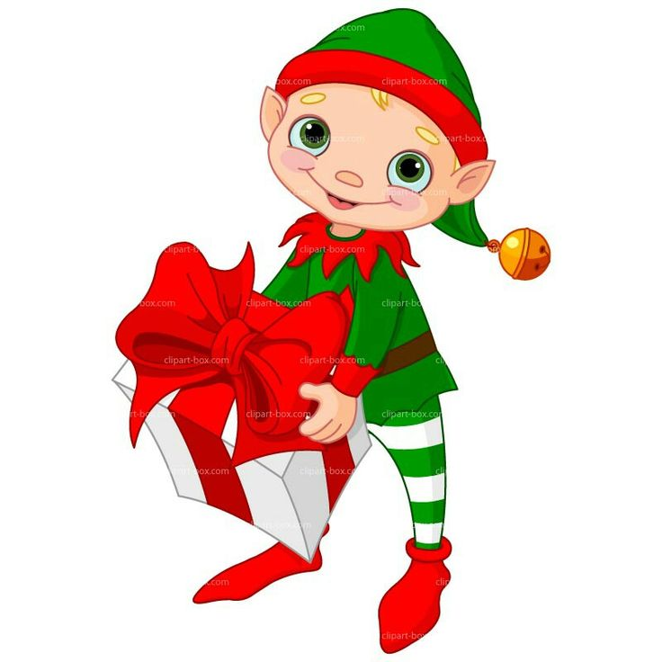 736x736 Elf Clipart Happy Holiday