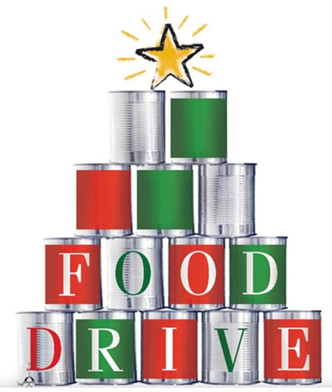 Holiday Food Drive Clipart