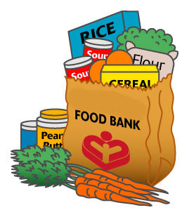 269x309 Canned Food Drive Clip Art