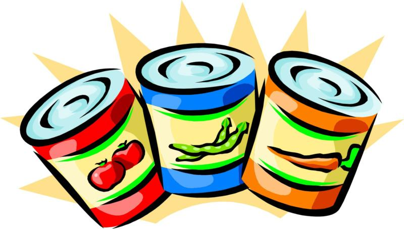800x454 Canned Food Drive Posters Free Clipart Images