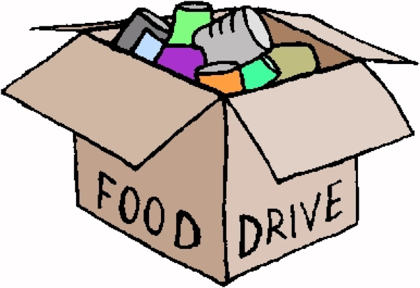 603x414 Food Drive Clipart Images
