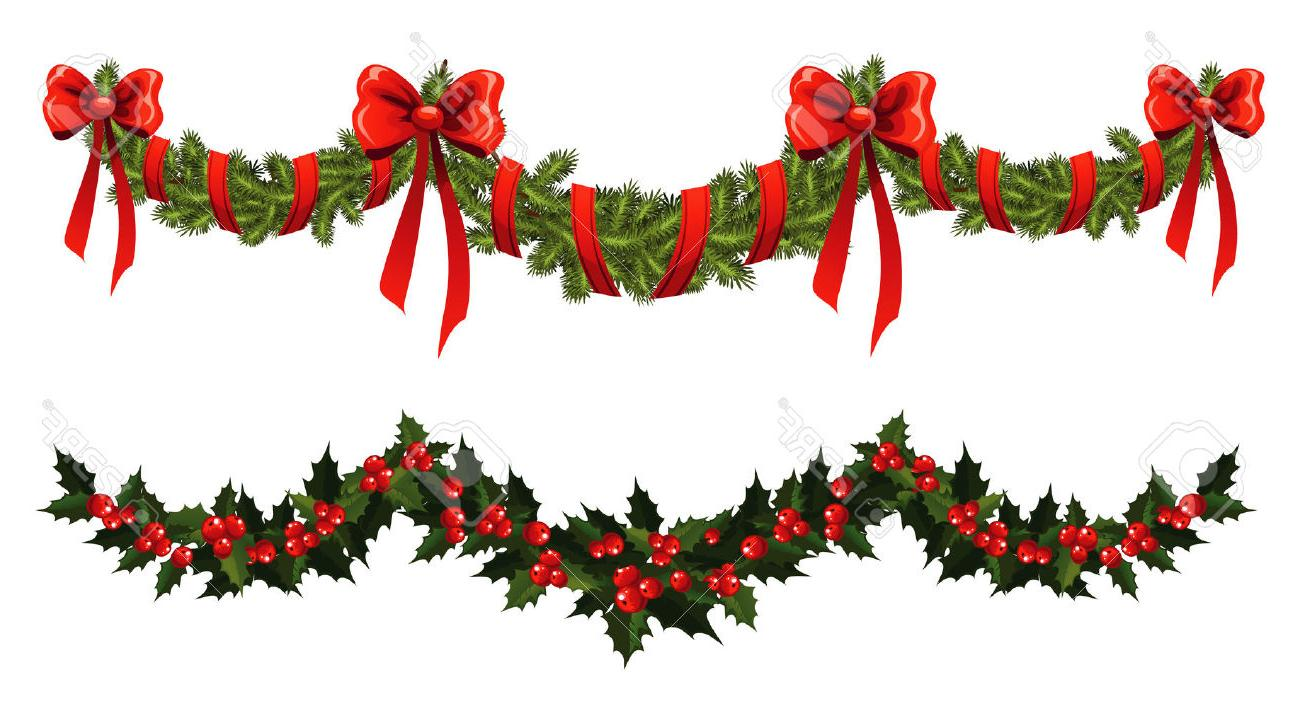 Holiday Garland Clipart | Free download on ClipArtMag