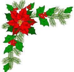 Holiday Garland Clipart Free Download Best Holiday Garland Clipart