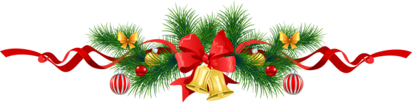 600x152 Boarder Christmas Garland Clip Art Merry Christmas Amp Happy New