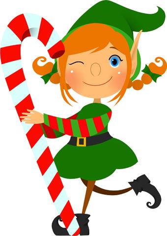 340x480 Christmas Elf Clip Art Clipart