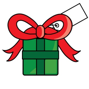 300x300 Gift Holiday Book T Clipart Kid