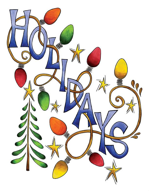 Holiday Graphics Clipart
