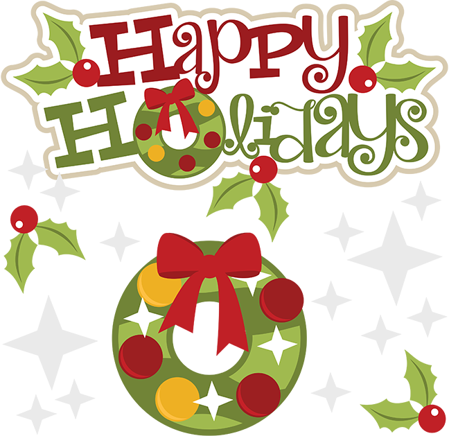 648x629 Happy Holiday Clip Art