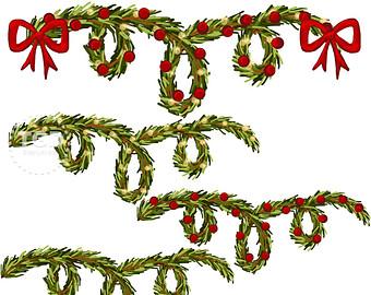 340x270 Christmas Clipart Greenery