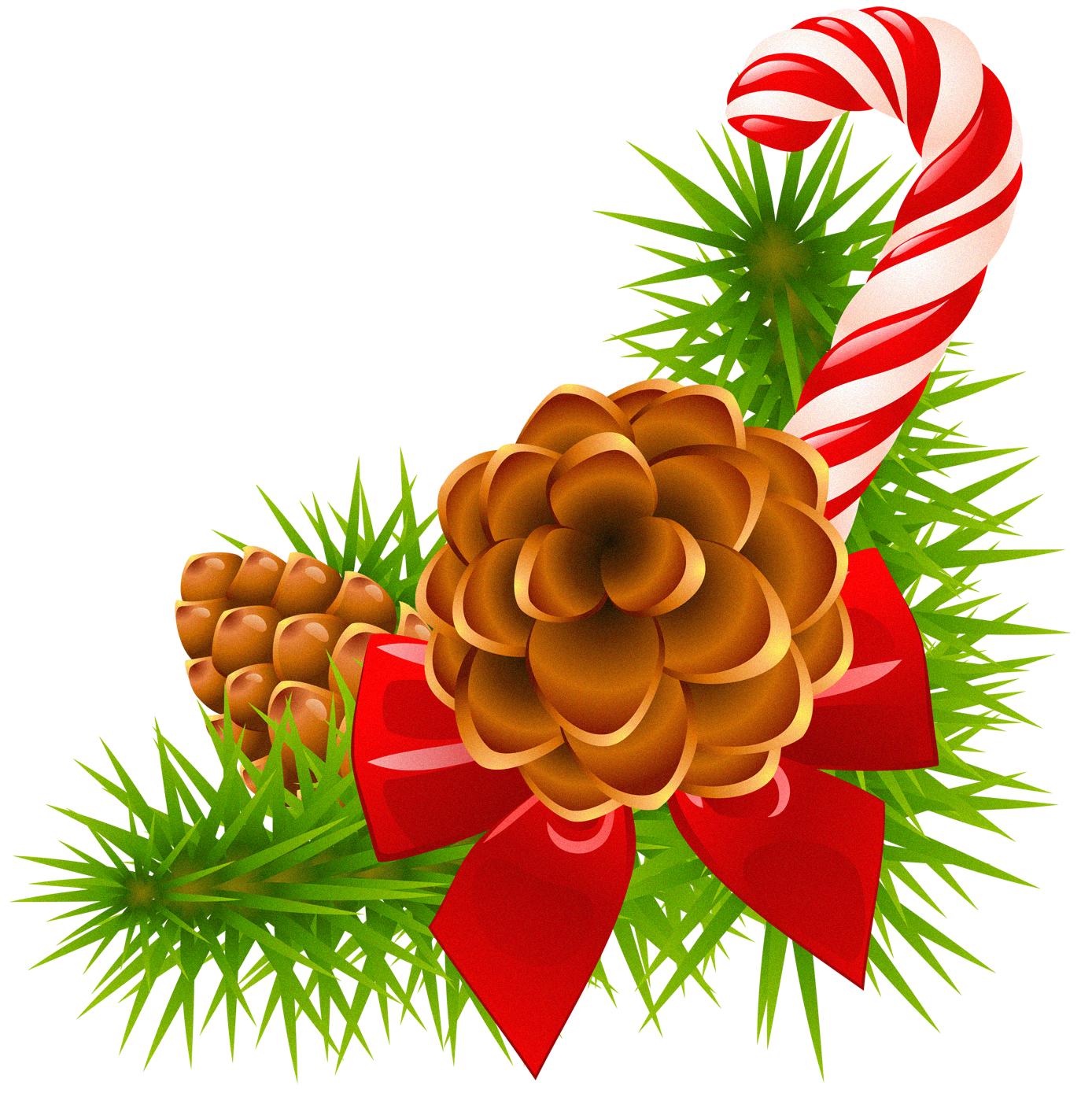 1388x1394 Cone Clipart Christmas
