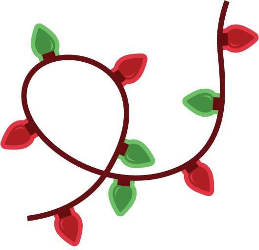 529x510 Decorative Christmas Flower Clip Art Merry Christmas Amp Happy New