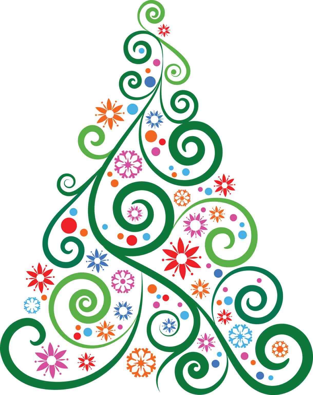 1219x1535 Modern Christmas Tree Clipart Cheminee.website