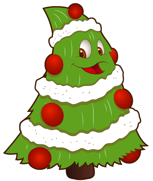 526x621 Transparent Funny Small Christmas Tree Png Clipart Christmas