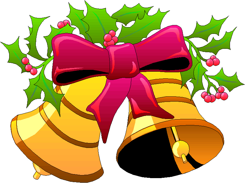 800x600 Bell Clipart Holiday