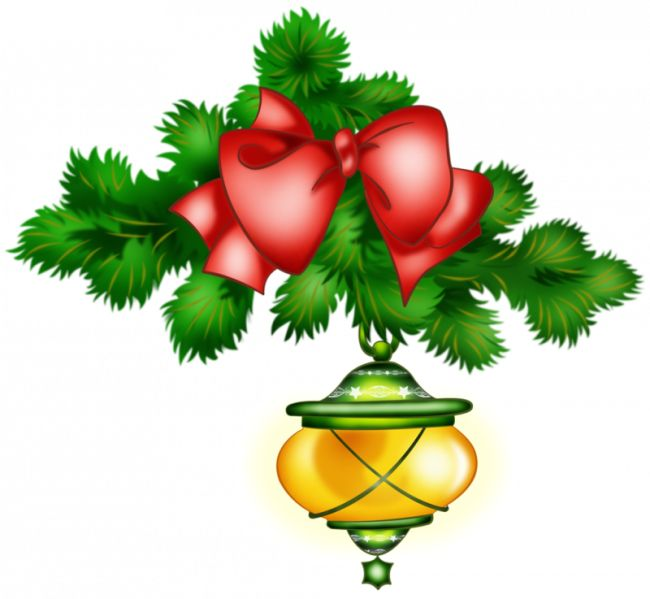 Holiday Greens Clipart