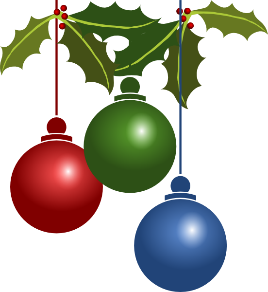 552x600 Christmas Party Clipart