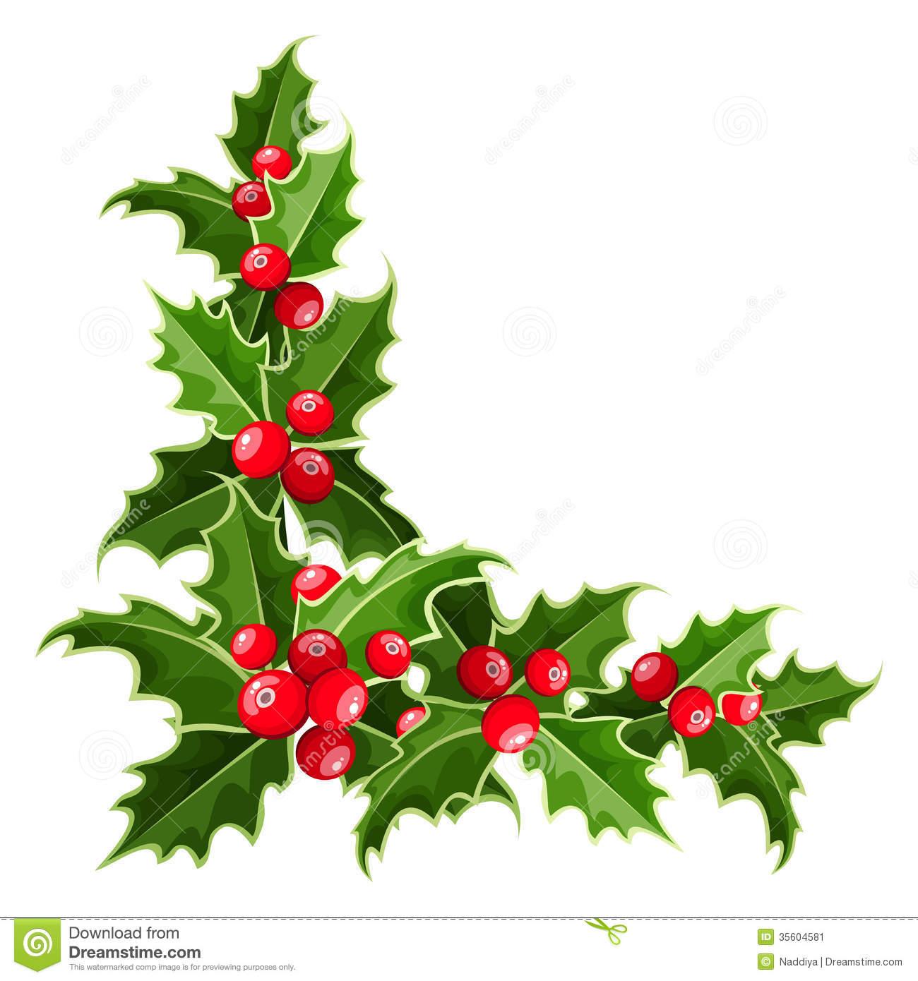 1300x1390 Corner Christmas Wreath Border Merry Christmas Amp Happy New Year Arts
