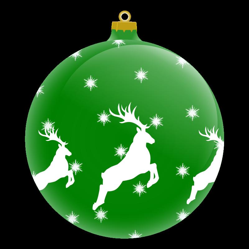 800x800 Free Clipart Christmas Ball Ornaments