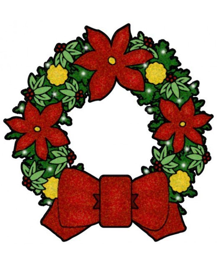 735x905 Best Free Christmas Clip Art Ideas Floral