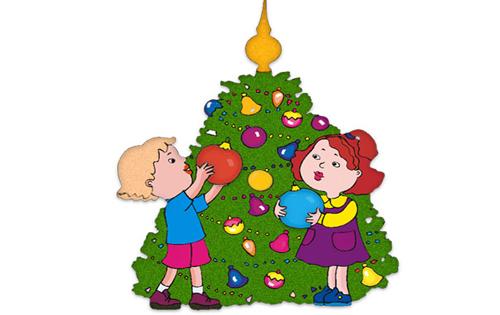 500x315 Christmas House Decorations Clip Art Happy Holidays!