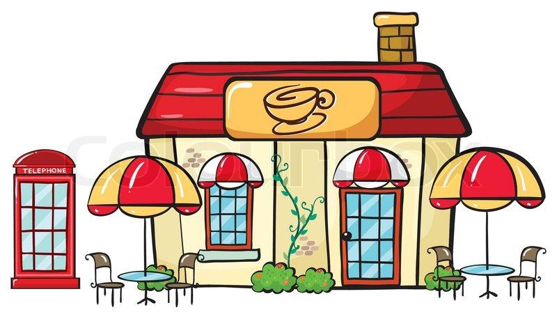 800x458 A Coffee Shop Stock Vector Colourbox