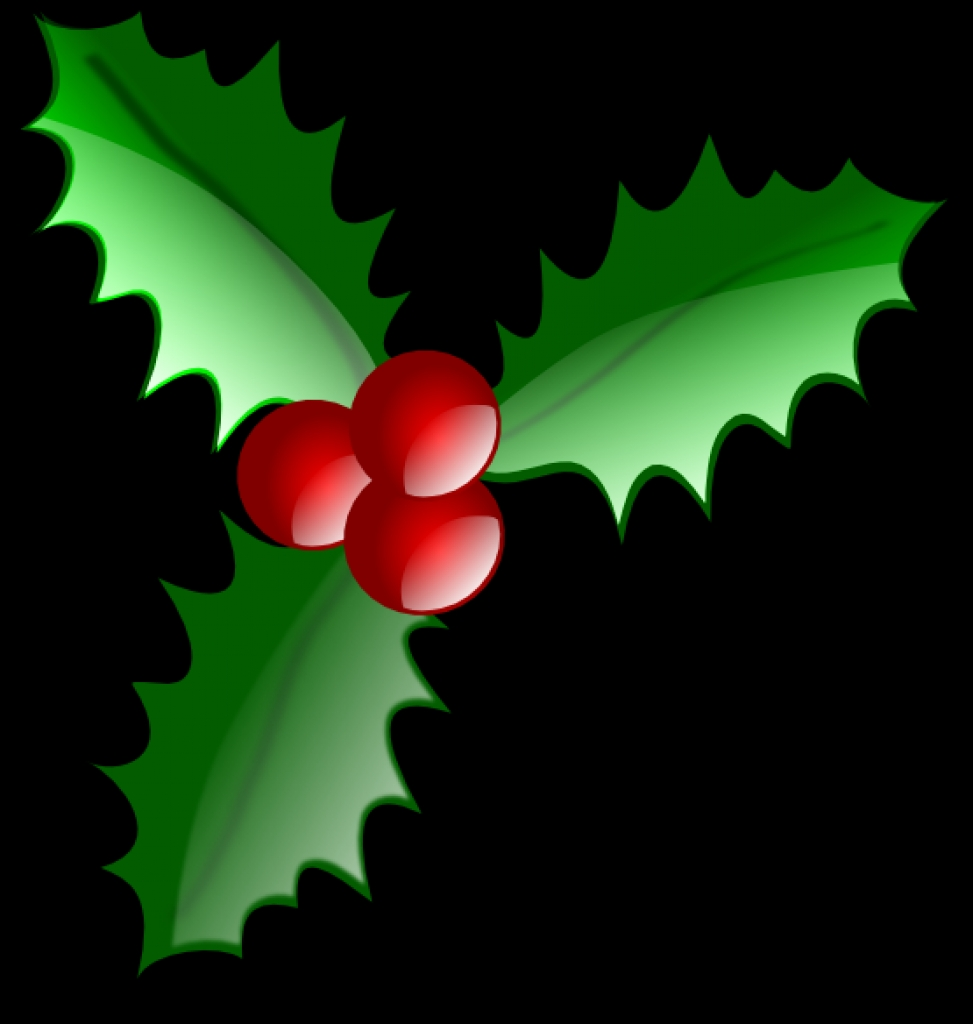 973x1024 Holiday Holly Clip Art Clipartboldtop 10 Png Free Holiday Clip Art