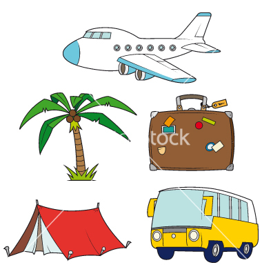 380x400 Holiday Travel Clipart