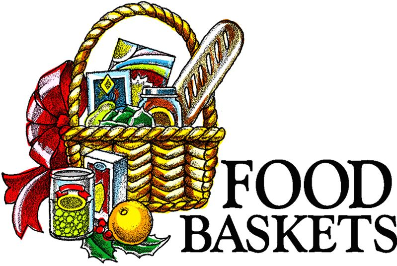 799x536 Holiday Food Basket Clipart