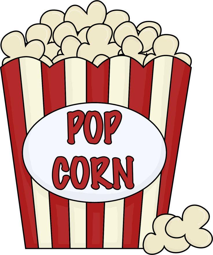 736x882 Holiday Clipart Popcorn