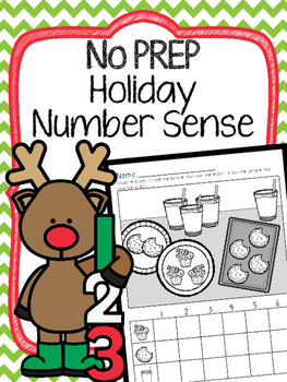263x350 No Prep Holiday Number Sense Decomposing Numbers, Comparing