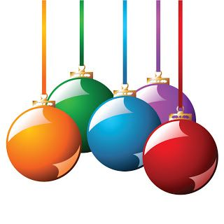Holiday Ornaments Clipart