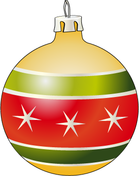 287x361 Christmas Ornament Clipart