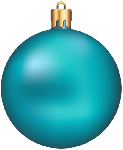 417x510 Christmas Ornaments Clip Art