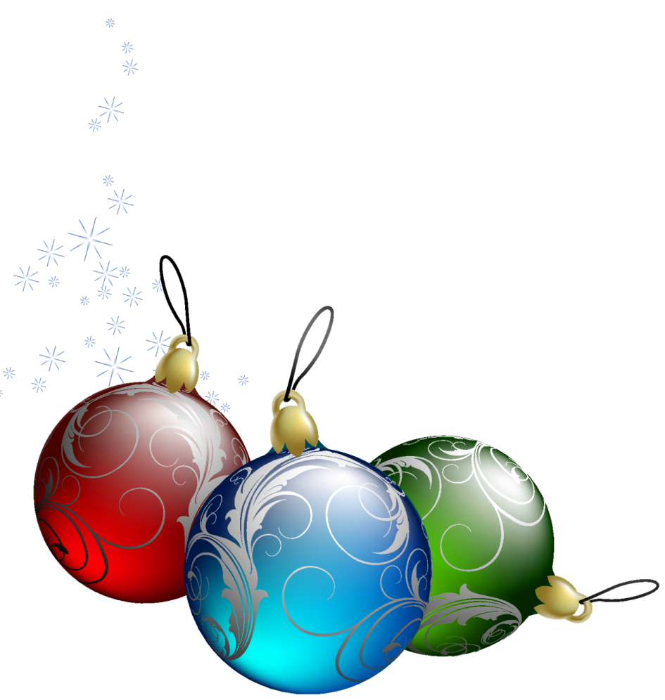 945x996 Christmas Ornaments. Clipart Christmas Ornaments Christmas Bulbs