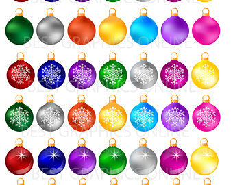 340x270 Chalkboard Christmas Ornaments Clipart Ornaments Chalkboard
